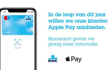 KBC België Apple Pay