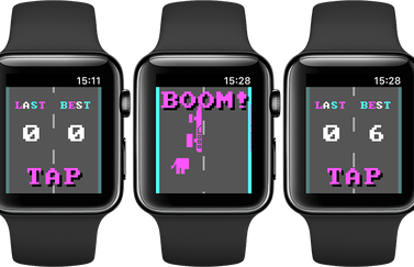 Donkey-game voor Apple Watch