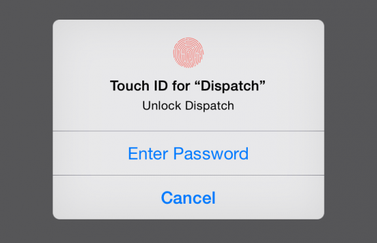 Touch ID Dispatch