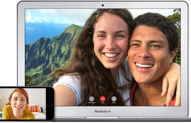 MacBook Air met FaceTime