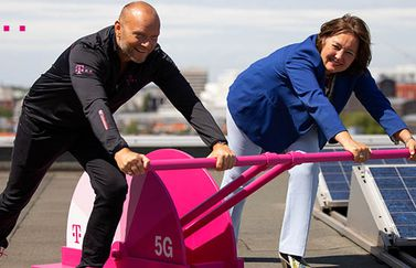 5G ingeschakeld T-Mobile