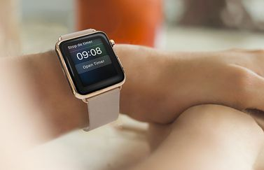 Apple Watch-timer