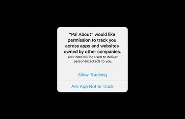Advertentie-tracking in iOS 14
