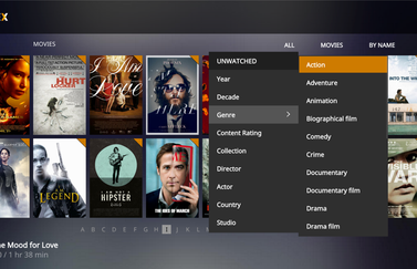 Plex Media Player voor je thuisbioscoop.