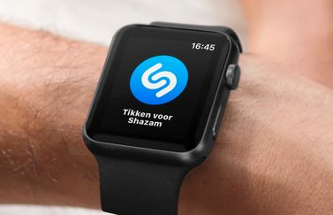 Shazam op de Apple Watch.