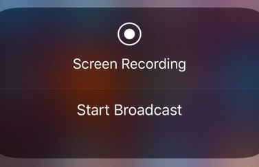 Livestreaming in iOS 11