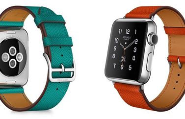 Apple Watch Hermes Simple Tour in meerdere kleuren.