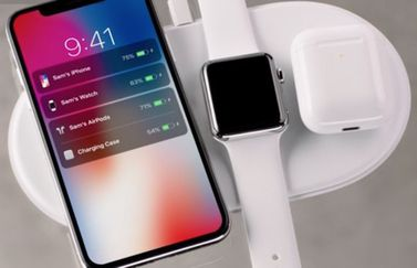 AirPower met iPhone X