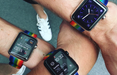 Pride-horlogebandjes voor Apple Watch