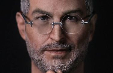 Steve Jobs actiefiguur close-up