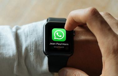 WhatsApp melding op de Apple Watch.