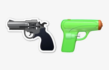 Waterpistool vs revolver