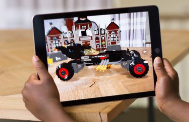 Apple's ARKit op de iPad.