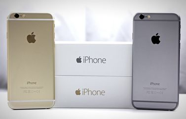 iPhone 6 in spacegrijs en goud