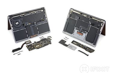 iFixit teardown M1 MacBooks