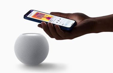 HomePod mini met iPhone 12