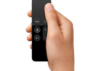 Siri Remote voor Apple TV 4, touchbediening.