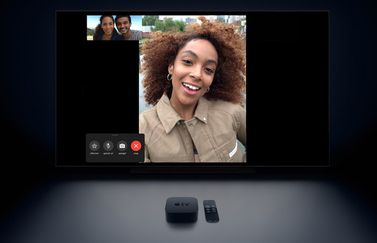 FaceTime op Apple TV