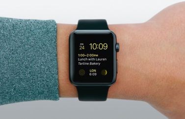 Apple Watch-wijzerplaat