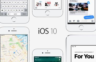 iOS 10 voor de iPhone, iPad en iPod touch.