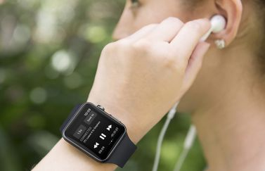 Podcasts luisteren op Apple Watch