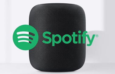 HomePod met Spotify.