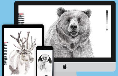 Tayasui Sketches voor iPhone, iPad en Mac