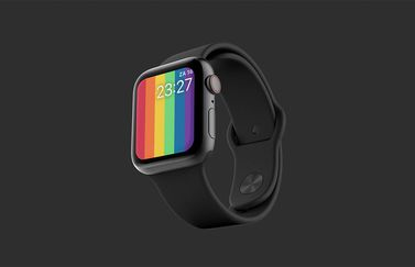 Apple Watch Pride 2020 wijzerplaat