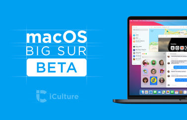 macOS Big Sur beta.