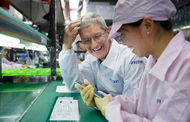 Tim Cook Foxconn