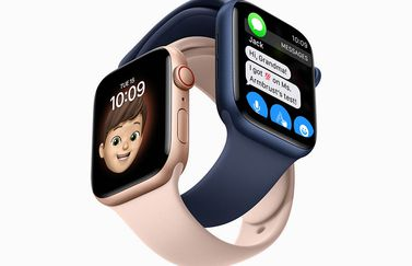 Gezinsconfiguratie Apple Watch