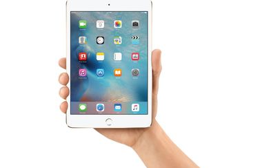 iPad mini 4 in de hand