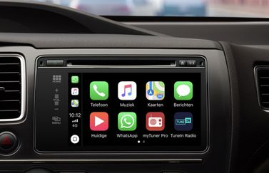 WhatsApp op CarPlay.