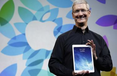 ipad air tim cook