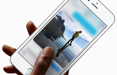 3D Touch in een foto-app.