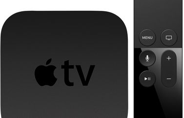 Apple TV 4 met Siri Remote.