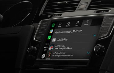 Spotify in CarPlay