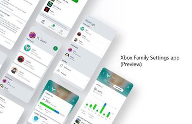 Xbox Family Settings app.