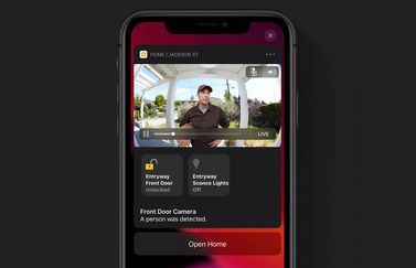 HomeKit Secure Video camera.
