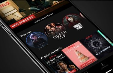 Netflix previews op iPhone en iPad
