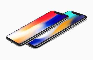 iPhone X Plus render zijkant.
