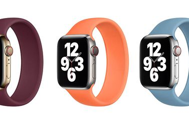 Winterkleuren 2020 Apple Watch bandjes