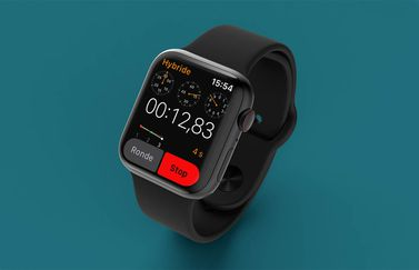 Apple Watch stopwatch hybride