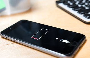 iPhone lege batterijmelding