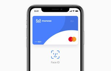 Apple Pay bij Monese