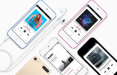 iPod touch met Apple Music.