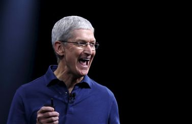 Tim Cook, enthousiast