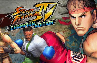 Street Fighter IV: Champion Edition.
