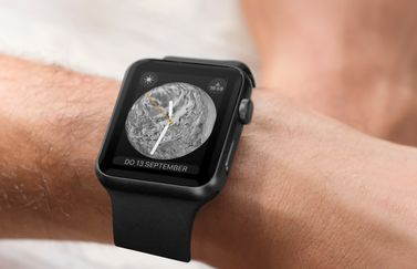Apple Watch-wijzerplaat van watchOS 5.