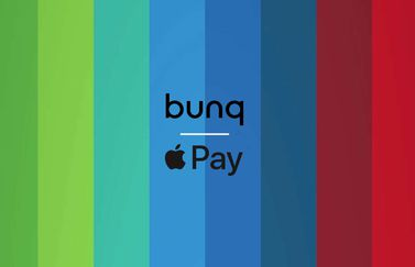 Bunq met Apple Pay.
